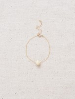 31 Bits The Minimalist Bracelet - Cream