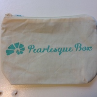 pearlesque box makeup tote