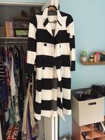 Double Zero Size small striped trench