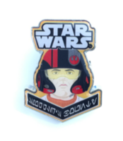 The Resistance Box: Poe Dameron Pin