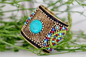 Sitara Collections Beaded Cuff