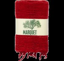 Marquet Fair Trade Free Weave Scarf - Coral