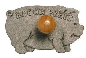 Norpro cast iron bacon press