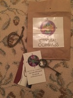 Crystal Compass Designs Skeleton Key Pendant Necklace
