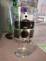 Geek fuel glass