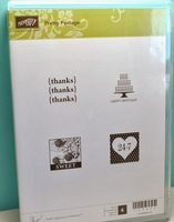Stampin Up Pretty Postage rubber stamp set