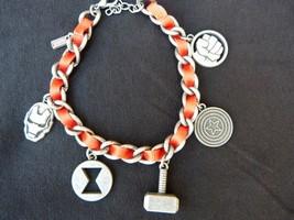 Loot Crate Exclusive Marvel Heroes Avengers Charm Bracelet
