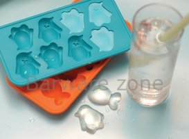 Macy's Penguin & Fish Silicone Ice Cube Tray Mold with Box (Set of 2)