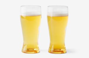 Govino Go Anywhere Beer Glasses, Set of Two, 16 oz