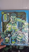 Hulk Lithograph glow in the dark loot crate dx exclusive