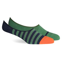 Richer Poorer 2-Pack No Show Sock - TEAL and BLUE