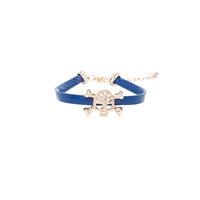 Lolita Skull Bracelet, Blue