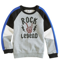 Fabkids Boys Rock Legend Sweatshirt, size S (4-5 years)