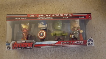 Avengers: Age of Ultron Funko Wacky Wobblers 4-pack