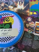 Back to the Future Time Capsule Coaster 4-Pack