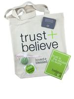 Trust + Believe Canvas Tote