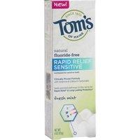 Tom's of Maine Rapid Relief Sensitive Toothpaste