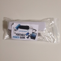 Portable power bank (backup charger)