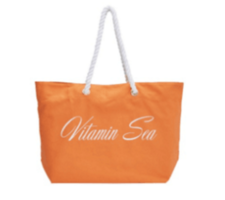 Trina Turk Canvas Tote: Vitamin Sea