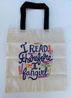I read therefore I fangirl tote