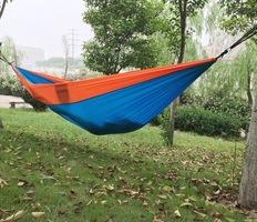 Parachute Hammock in Orange/Blue